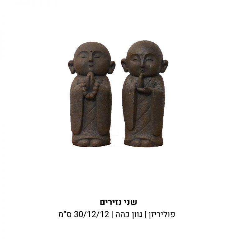 נזירים מפוליריזן בגוון כהה